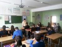 Информационный час «Профессии на все времена», подготовленный сотрудником Кизильской районной библиотеки прошел для учащихся Кизильской школы №2